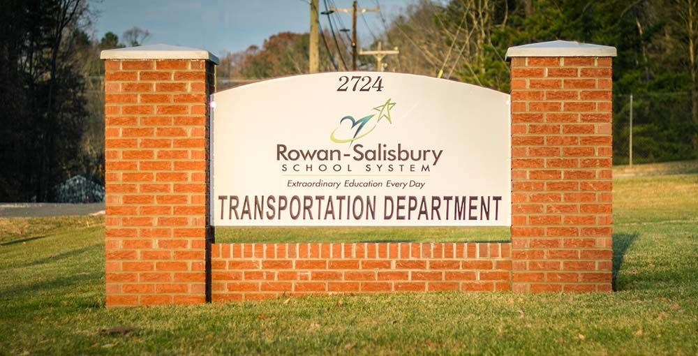 transportation department sign